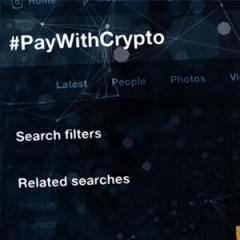 People Demand Retailers Embrace Crypto with Trending #PayWithCrypto Hashtag