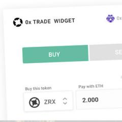 This New Widget Will Make Decentralized Exchanges More User-Friendly