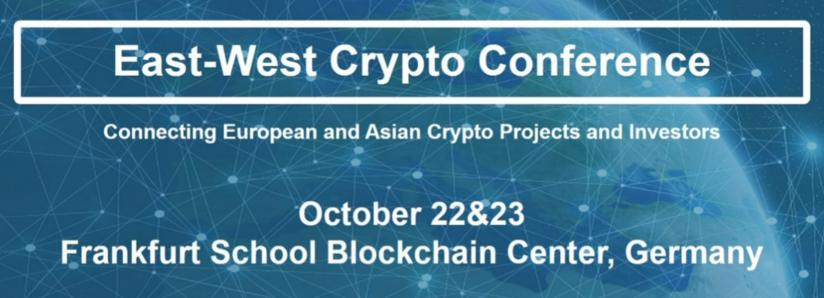 East-West Crypto Conference – Now Featuring Eight Additional Events and Meetups