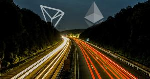 Tron's Daily Transaction Count Surges to a Third of Ethereum