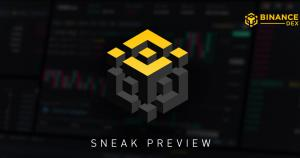 Binance Releases Sneak Peak of DEX Ahead of Q1 2019 Launch