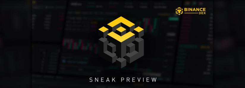 Binance Releases Sneak Peak of DEX Ahead of Q1 2019 Launch