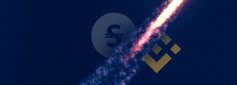 Binance DEX welcomes its first stablecoin—StableUSD