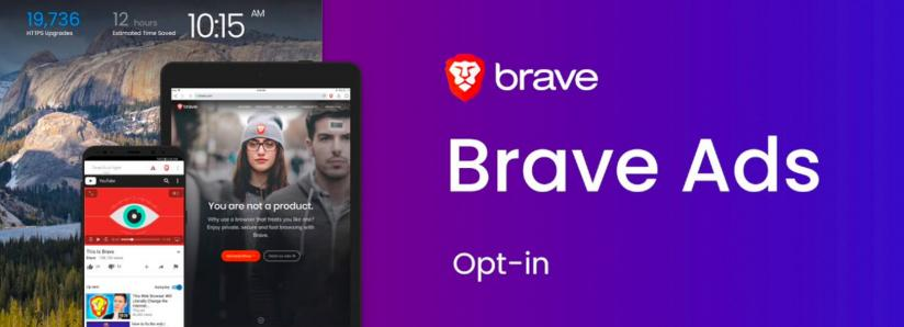 Brave Ads Rewards Now Live, Users Can Earn 70 Percent of Revenues in Basic Attention Token