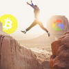 Bitcoin interest jumps on Google, trends down on Twitter