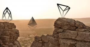Is Ethereum's market share at risk from EOS and TRON?