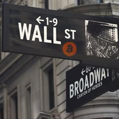 Wall Street trades a significant portion of the market's bitcoin futures