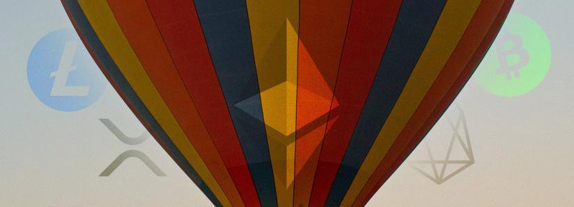 Altcoins rise as Bitcoin consolidates: Ethereum, XRP, Bitcoin Cash, EOS, Litecoin analysis