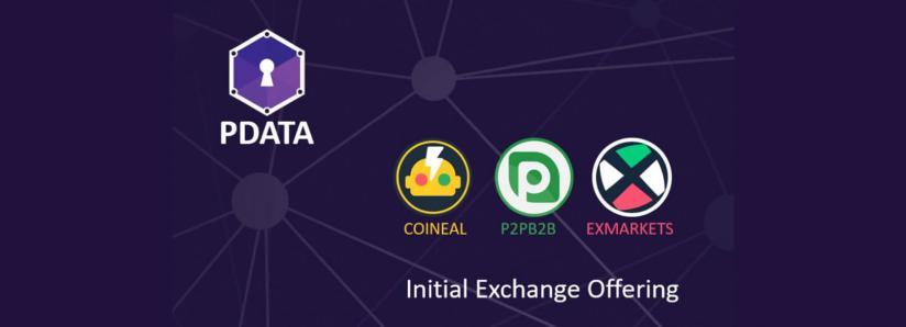 Personal Data Marketplace Opiria Begins PDATA Token Initial Exchange Offering on 3 Top Exchanges