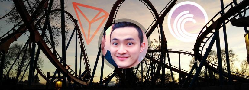 Justin Sun announces an announcement, TRON and BitTorrent jump