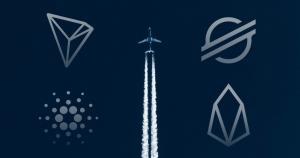 EOS, XLM, ADA, and TRX are showing signs of liftoff