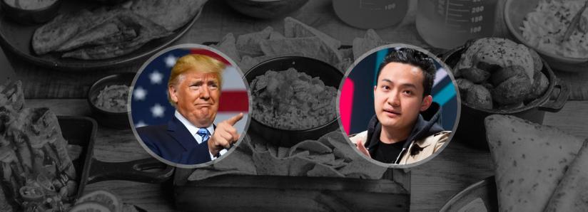 Donald Trump still hasn't responded to Justin Sun's Warren Buffett lunch invitation