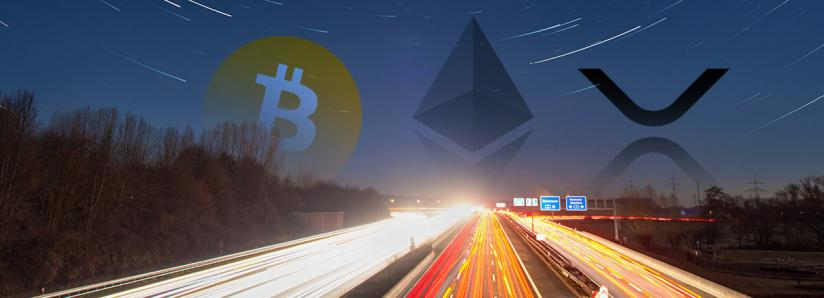 Bitcoin, Ethereum, and XRP may be preparing for a breakout