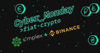 Simplex and Binance launch extended special with reduced fees for globally purchasing crypto with debit and credit cards