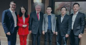 Justin Sun's $4.5M dinner with Warren Buffett had a massive ROI if you consider Tron's price increase