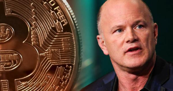 Mike Novogratz says Bitcoin will never again drop below $5000