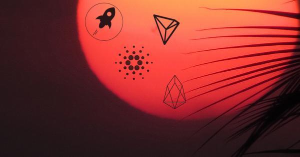 Price Watch June 1: Stellar Lumens, Cardano, TRON and EOS