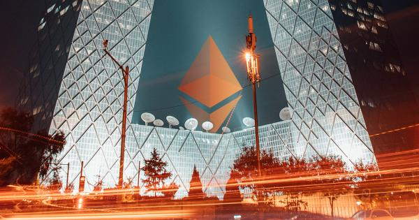 This Chinese public company just bought $22 million in Ethereum (ETH)