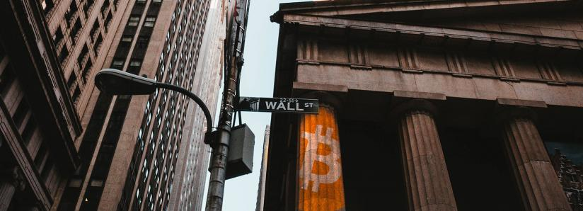 Bitcoin and Cryptocurrencies Pull Back While Dow Experiences Record-Breaking Rally