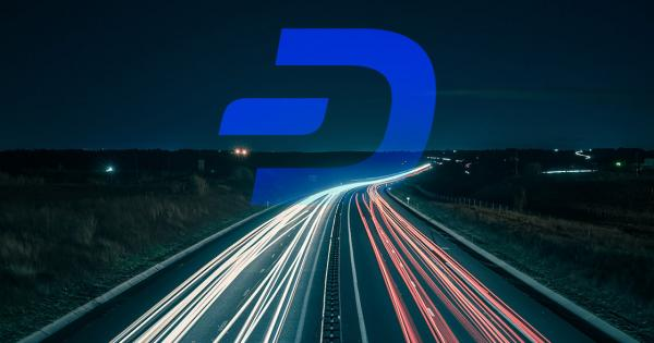 DASH is up 32.4 percent in the past month, protocol update on the way