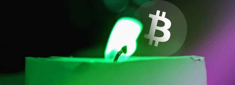 Huge green candle pushes bitcoin from $4200 to $5000 in minutes, BTC up 15% over past 24 hours