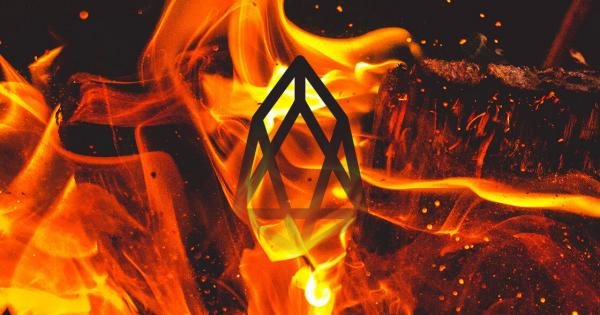 EOS votes to burn $167 million in tokens in preparation for drastically reducing inflation