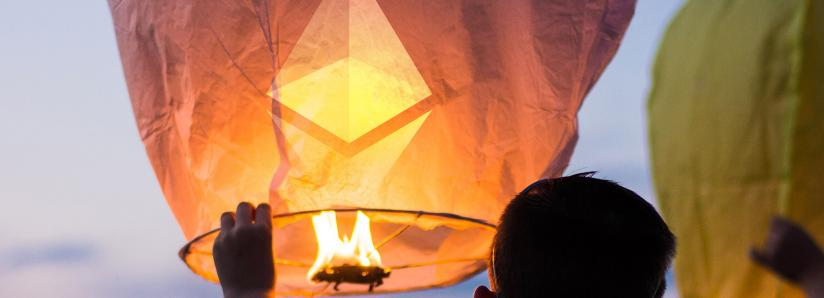 Ethereum is breaking out following bitcoin's bullish momentum