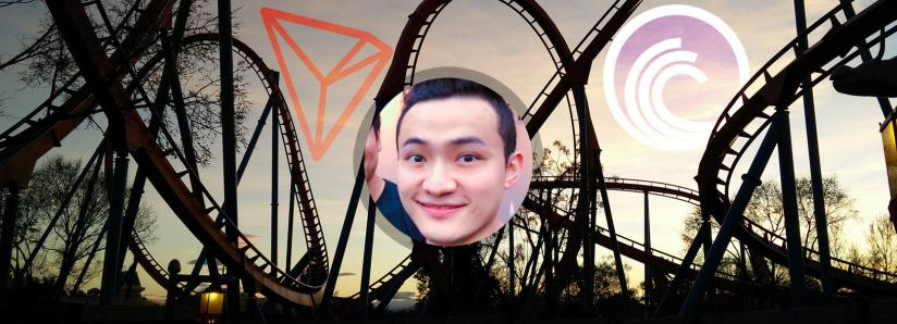 Justin Sun announces an announcement, TRON and BitTorrent jump