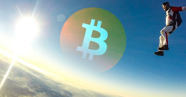 After the recent parabolic move, Bitcoin shows signs of dropping to $9,600