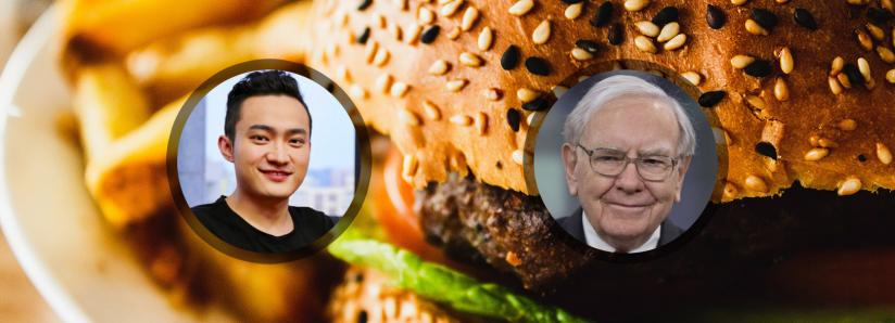 Justin Sun just squandered $4.6 million on lunch with Warren Buffett