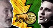 Pomp and Peter Schiff's Showdown on CNBC Crypto Trader: Bitcoin vs. Gold