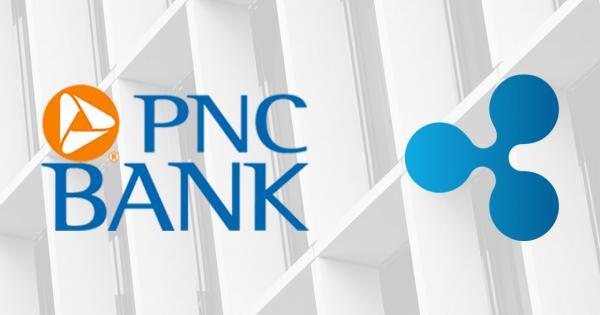 US banking giant PNC goes live on RippleNet