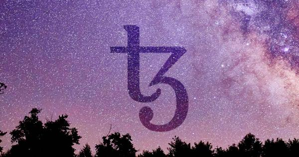 Binance lists Tezos and its price shows signs of a further upswing