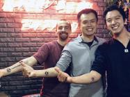 Are you dedicated enough to get a tattoo of your company's logo? Binance's Changpeng Zhao is