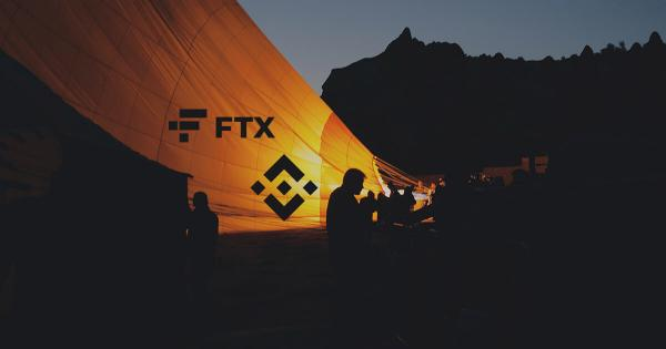 Data shows $1 billion of trading volume in Binance and FTX combined