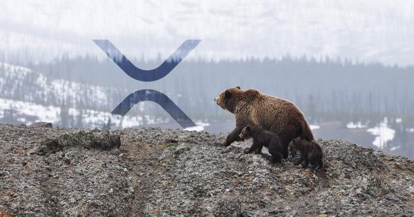This bearish formation spells trouble for XRP; here's where it may drop to next