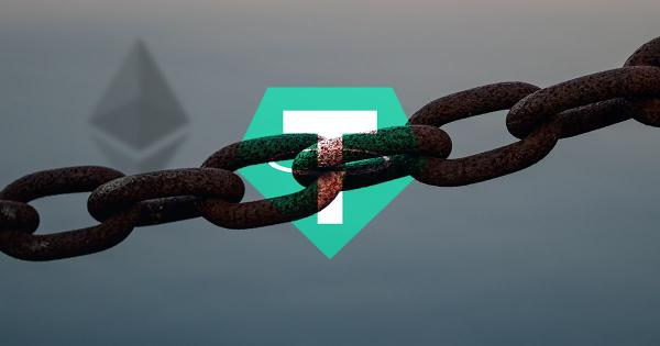Tether (USDT) is dominating value transfer on the Ethereum blockchain, but why?