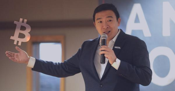Crypto just lost its pro-Bitcoin candidate as Andrew Yang drops out of the U.S. presidential race
