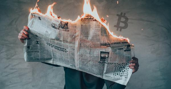 Yahoo Finance and Investing.com post a fake news article claiming Bitcoin is down 56%