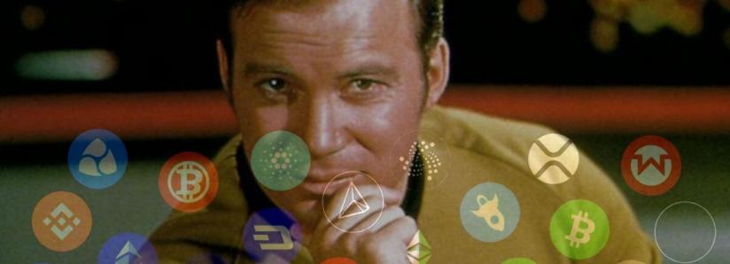 Acting legend William Shatner is crypto's latest ally