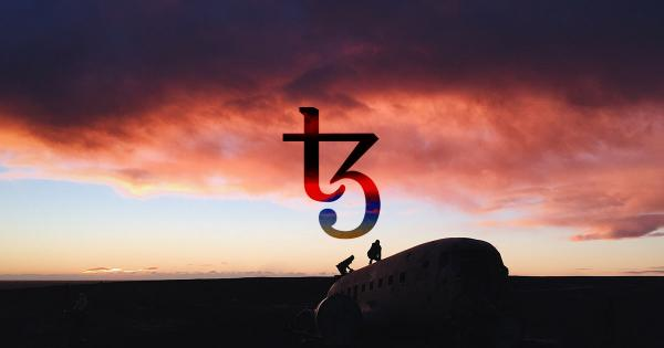 Tezos continues bullish climb as it pushes against key resistance