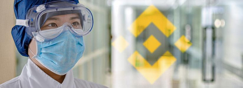 Binance to raise $5 million to help with the global pandemic