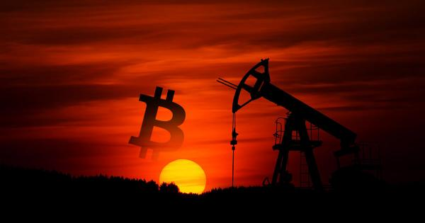 Plunging oil price presents an unexpected risk to the crypto market in April