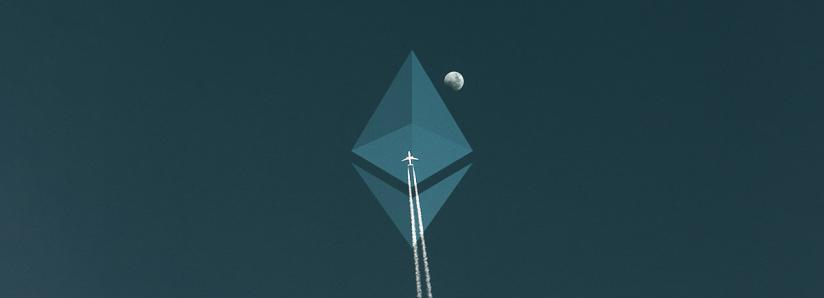 Ethereum large transaction volume rockets on heels of report about institutional inflows