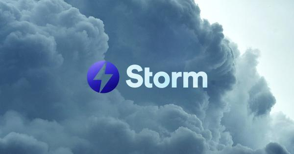 StormX introduces rewards program, users get 87.5% crypto back on purchases