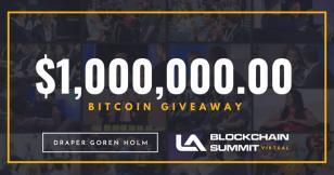 Draper Goren Holm's LA Blockchain Summit celebrates going virtual with $1 million Bitcoin giveaway