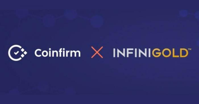 Infinigold integrates Coinfirm's aml & analytics platform, setting a new compliance and security standard for digitalised commodities