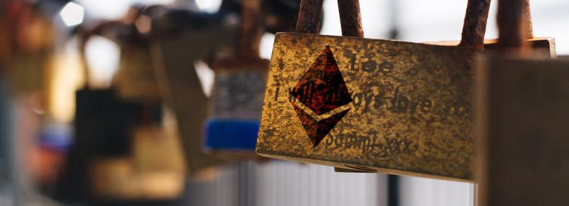 The amount of Ethereum locked in DeFi is up almost 30% in a month