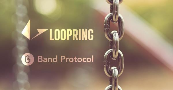 Looping becomes the first DEX to integrate Band Protocol's cross-chain oracles