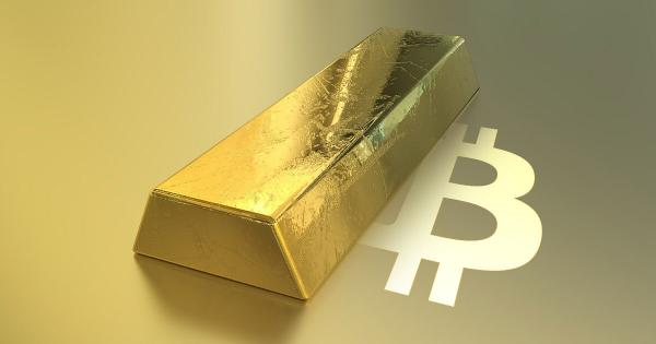 """Bitcoin is """"eating"""" Gold: GOLD/BTC ratio falls to an all-time low"""